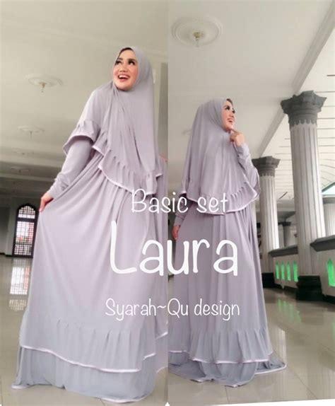 Jilbab Syari Tiara Renda busana muslim koleksi terbaru