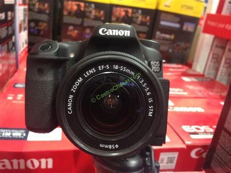 canon eos 70d dslr review costco canon 70d dslr kit review costcochaser
