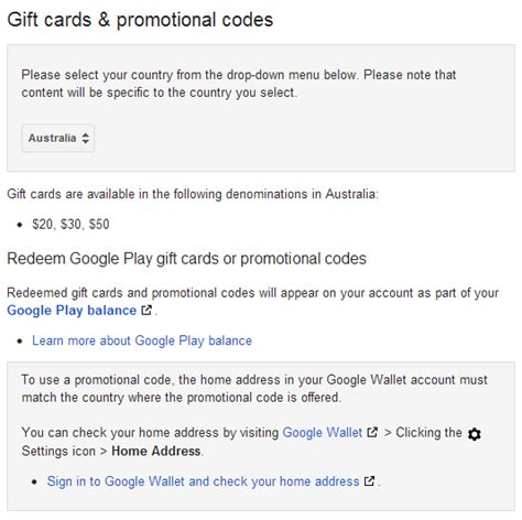 Google Play Gift Card Denominations - google play gift card promo code free infocard co