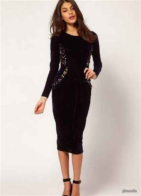 lc waikiki diz alti siyah elbise modelleri fiyati 19 90 tl pictures to diz alti abiye elbise modelleri 6 3k moda diyet
