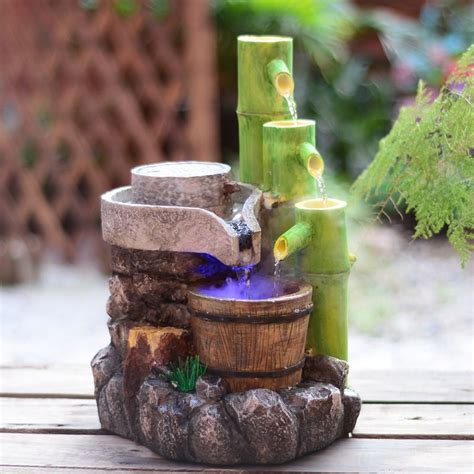 fountain for home decoration resin crafts feng shui water fountain home decoration