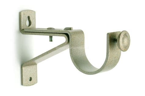 curtain rods and brackets silver antique curtain rod single brackets wbk sa