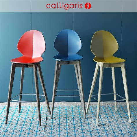 calligaris bar stool 3d models chair calligaris bar chair basil w stool