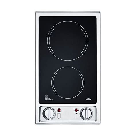 Burner Electric Cooktop - electric cooktops cooktops the home depot