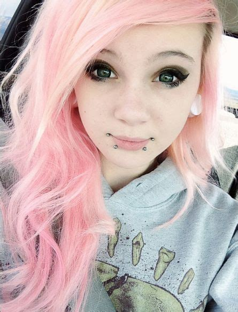 pastel pink hair hair pinterest