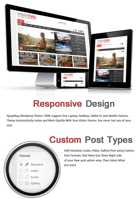 magazine responsive layout wordpress spraymag ecommerce magazine responsive