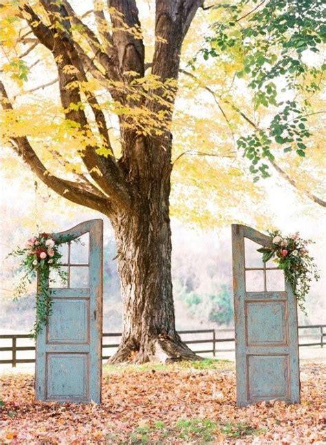Wedding Arch Using Doors by Easy Diy Wedding Arch Ideas Weddingelation