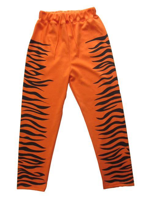 tiger pattern jeans new tiger stripe pattern sweat pants g dragon 2ne1 orange