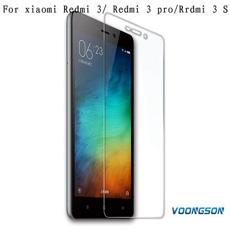 voongson for xiaomi redmi note 3 pro redmi 3 m5 mi5 redmi 3 pro tempered glass anti