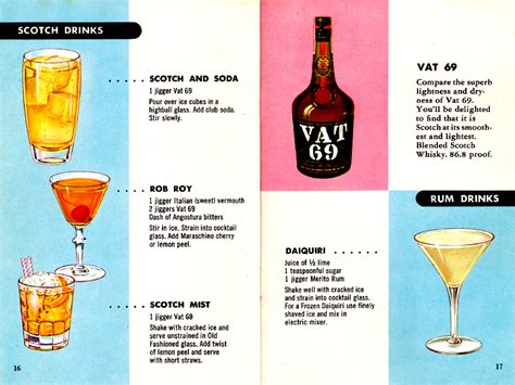 menu for cocktail for 50 cocktails made easy pages 16 17 out of 20 the