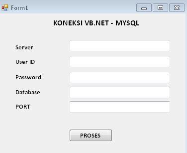 membuat koneksi database mysql dengan vb net cara membuat koneksi database mysql pada vb net call me