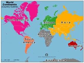 Map Of The World Continents by Pics Photos Map Of The World Continents