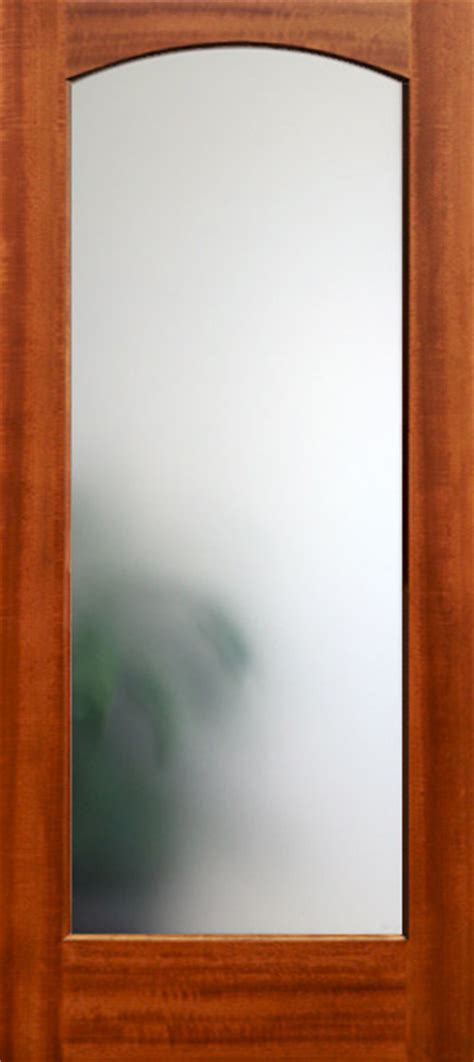 Frosted Glass Panel Interior Door by 6 Panel Mahogany Doors Nicksbuilding