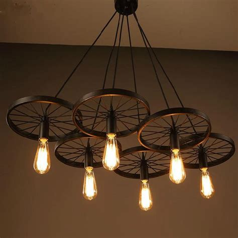 New Ceiling Lights New Modern by New Modern Diy Loft Retro Iron Bicycle Wheels Pendant