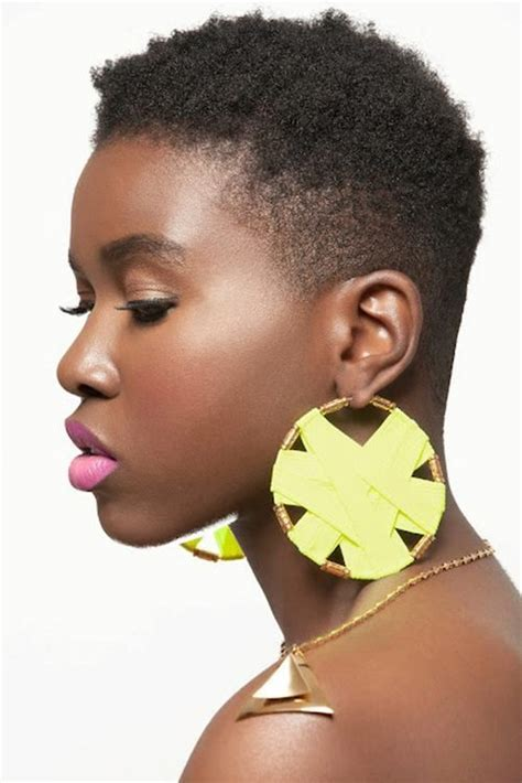 blow out on natural short black tapered 199 best images about shaved natural hair styles on pinterest