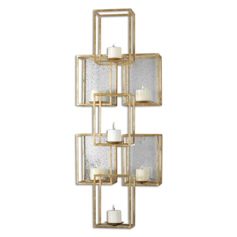 Mirrored Wall Sconce with Ronana Mirrored Wall Sconce Uvu07693