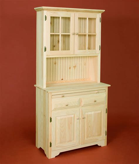 Kitchen Server by American Pride Country Kitchen Server With Hutch