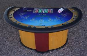 Custom 3 card poker table felt
