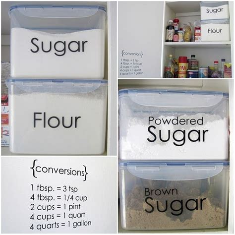 flour storage ideas creative ideas to organize your pantry