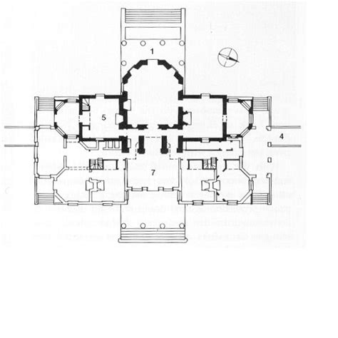 floor plan of monticello what is architecture