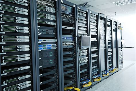 Server Room Components by Racks