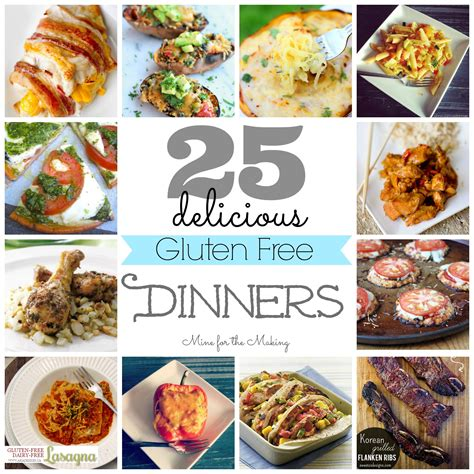 gluten free recipes dinner food a licious friday 25 delicious gluten free dinners