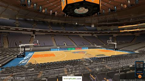 Madison Square Garden Seating Chart Section 116 View