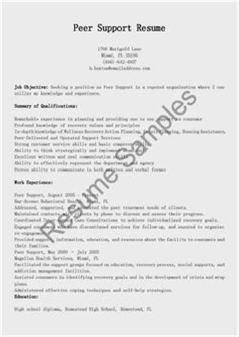Peer Support Cover Letter by Social Work Resume Exles Social Work Resume With License Social Work Resume Work