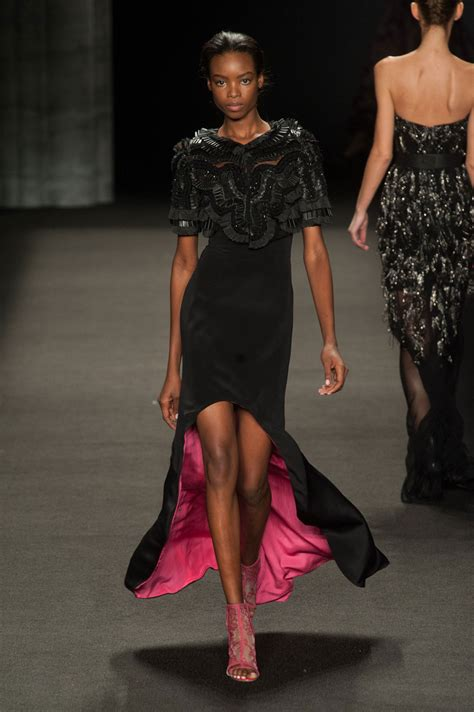 new york fashion week fall 2014 best new york 2014 monique lhuillier fall 2014 the best runway looks at