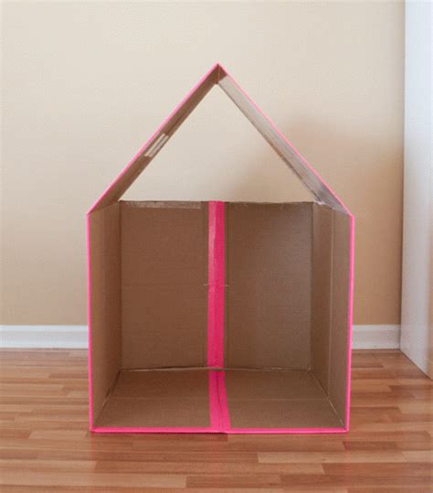 cardboard houses entertain your kids with creative diy cardboard houses