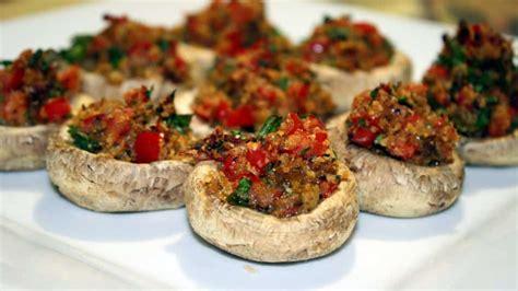 vegetarian stuffed mushrooms recipe vegetarian stuffed mushrooms jo cooks