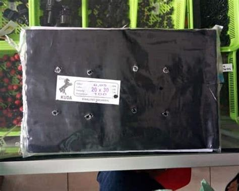 Jual Polybag Makassar jual polybag 20x30 100 lembar bibit