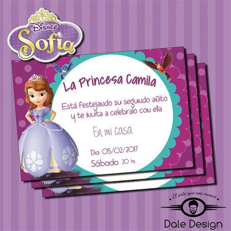 invitaci n de bautizo de princesa para imprimir invitaciones princesa sofia para imprimir daledesign elo7