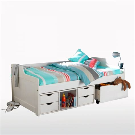 single bed with drawers trundle noa nani