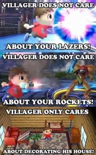 Super Smash Bros Meme - funniest smash bros villager memes smosh