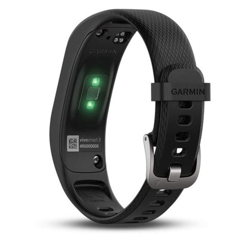 Garmin Vivosmart 3 Black Large buy garmin vivosmart 3 fitness band large black in dubai