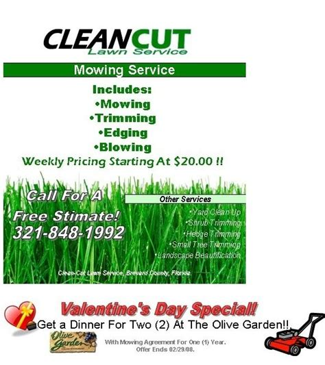 lawn mowing flyer template free the best letter sle