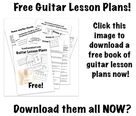 guitar tutorial video free download free guitar teaching resources