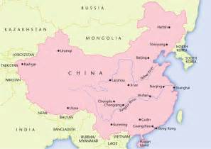 Map Of China Cities by China Map Of Major Cities