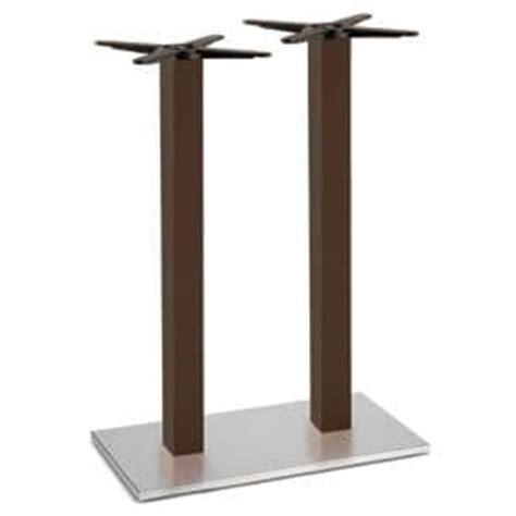 doppel sockel esszimmer tische tischgestell f 252 r bars stahlgestell und s 228 ule aus massiver