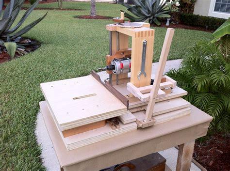 Horizontal Mortise Machine Build By Woodshaver Tony C
