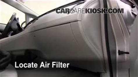 Bad Cabin Air Filter by 2010 2014 Toyota Prius Brake Fluid Level Check 2010
