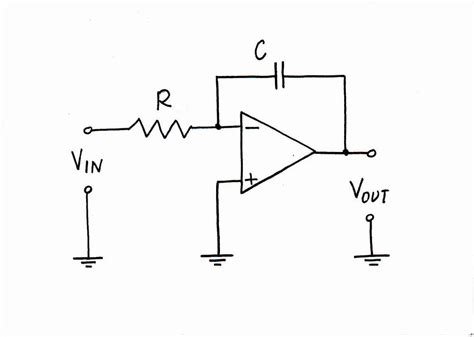 circuit of integrator lifier mehlcheesodit integrator op