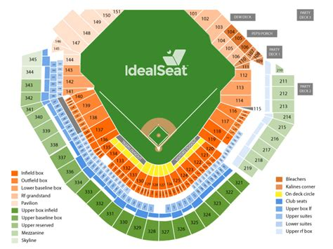 comerica park section map comerica park seating chart