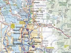 Washington Road Map by Similiar Washington State Road Map Keywords