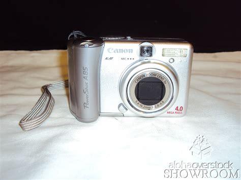Toner A85 canon powershot a85 4 0 mp digital silver
