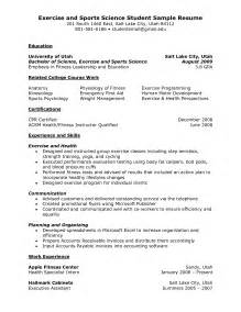 fitness instructor resume sle instructor resume sales instructor lewesmr