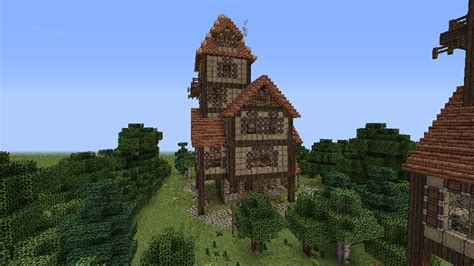 how to build a medieval house in minecraft how to build a beautiful medieval house minecraft blog minecraft pinterest