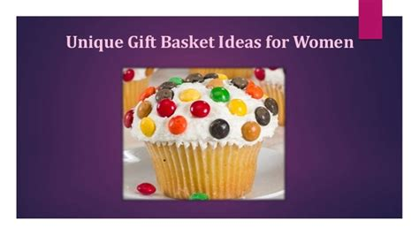 unique gift ideas for women unique gift basket ideas for women