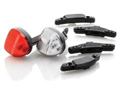 magnetic induction powered bike light look closely safty bicycle lights powered by magnetic induction no batteries no generator